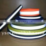 Eco friendly and high visibility reflective webbing sewing on the safty clothing or shoes