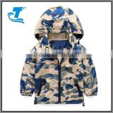 Boy child Camouflage cotton-padded jacket children's outerwear winter wadded jacket thickening cotton-padded jacket