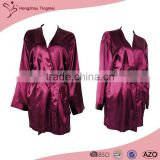 New Style Fashion Design Custom Satin Boxing Robe
