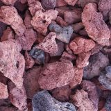 Heat Absorbing Volcanic Lava Rock Landscaping For Outdoors