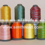 100~ 800m small cone rayon thread for machine embroidery