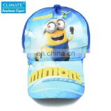 Cotton Famous Cute Cartoon Animation Minions Despicable Me Dave Stuart Tim fans baseball sport caps hat for child kids boy gifts
