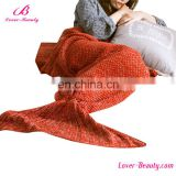 Wholesale office adult mermaid blanket tail