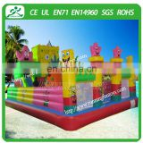 2015 Outdoor inflatable amusement park inflatable bouncer, inflatable bouncy castle obstacle