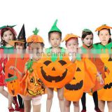 Hot style children performance costume pumpkin make-up for party