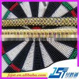 2017 new design Ribbon wholesale,2cm gold thread