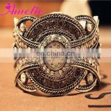 A0980 Gorgeous Crystal Bracelet Watch Sumptuous Arabic Wedding Gifts