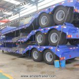2/3/4 Axles lines 30/40/50 T/Tons CIMC Lowboy/Lowbed/Low Bed Trailer Q345 material