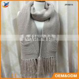 ISO90001 Certified crochet infinity scarf with great price