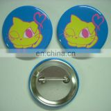 Full color printing tin badge,round button badge,pin badge,metal badge