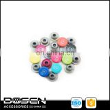 fancy metal zinc alloy color buttons