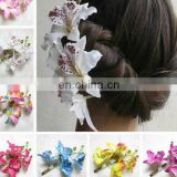 Korean wedding hair accessories,flower design hairpin,moth orchid hair jewelry