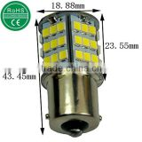 1156 Ba15s White 1350 Lumens Super Bright 54smd 2835 Chips LED Car Lights Bulb Backup Signal Blinker Stop Brake Tail Light Bulbs