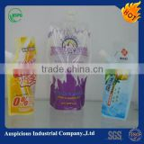 Liquid baby food packaging spout bag