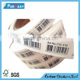 Cheap barcode labels costimized for type of printer                                                                         Quality Choice