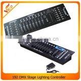 Hot sale disco stage light 192 channel dj console dmx controller