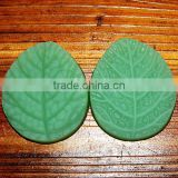 Nicole Factory Q0051 Handmade Leaf Shape Icing Sugar Crafts Silicone Mold For Cake Decorating