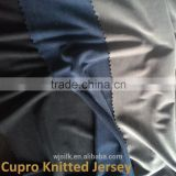 cupra fabric knitted jersey