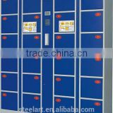 Metal secure electronic luggage storage locker