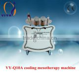 Iontophoresis Mesotherapy Cosmetic Machines With Pen Vibrator
