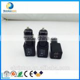 High Speed Fast Charge Output DC 5V 3.1A Universal Portable Dual Port Micro USB Car Charger For OEM Factory Wholesale