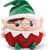 "9"" Plush Elf Wearing Chirstmas Clothes/High Quality Stuffed Toy Elf BoyElf Toy for Christmas"