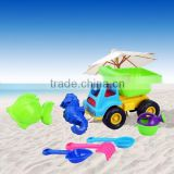 High quality plastic beach buckets sand for kids
