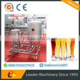 leader brand horizontal disc type diatomaceous earth filter machine for beer with best performance