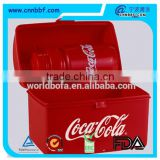 Custom plastic treasure chest lunch box/ Lumo Lunch Box & Ref 805 - 300ml Standard Bottle 5