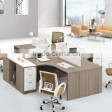 wood partition screens aluminium panel office partition custom office cubicle decoration (SZ-WST629)