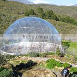 Geodesic dome marquee Event geodesic dome tent Half white and half transparent PVC200person600person for sale