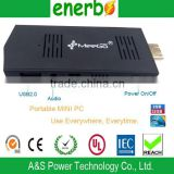 Hot Sell Meegopad T02 Mini PC Windows 8 & Ubuntu Integrated HD 2gb Garphics Cards Intel Atom Z3735F Quad Core Mini PC SSD