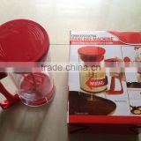 2015 new product battery functioned electric batter dispenser electric pancake maker machine
