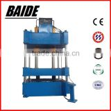 Four column hydraulic metal stamping press machine for sheet metal /aluminum /stainless steel with high quality