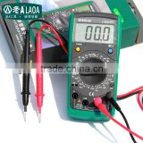 LAOA Multifnction Digital Multimeter with Temperature Multimeter with Battery Tester Multimeter with Auto-range