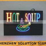 Outdoor Bar Open Led resin Sign Board