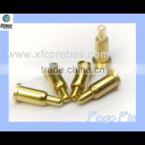 "Gold plated Pogo pin for charger battery contact with spring loaded and ""Alibaba Trade Assurance"""