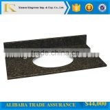 "factory price 31""*22"" verde granite vanity tops uba tuba vanity tops for bathroom"
