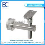 Stainless steel glass deck railing bracket for balustrade stair