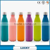 High quality 350ml/500ml/750ml double wall outdoor vacuum stainless steel swell water bottle