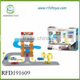 Hot sale park b/o electric slot car racing track set toy