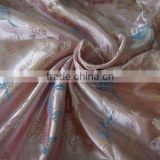 yarn dyed Nylon poly satin brocade fabric