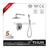 Popular lead free build in faucet with hand shower shower set