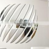 Stylish hot sale removable acrylic wall mirror sticker Home decor
