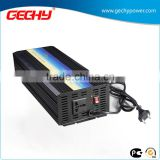 HYPC-2000W high frequency 12v-230v DC to AC pure sine wave car power inverter with charger                                                                         Quality Choice