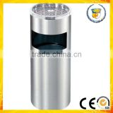 hospital airport facilities indoor side open rubbish barrel dustbin