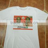 2016 ghana campaign white printing t shirt double side printed t-shirt