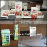 200ml natural coconut milk in paper carton filling packing machine
