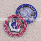 Wholesale metal air force souvenir coin/casting challenge coin/double sides coin for souvenir                                                                                                         Supplier's Choice