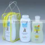 Baby Care Items: Shampoo, Powder, Lotion, Oil In A Gift Bag